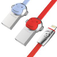 【包邮】ROCK 猴子苹果数据线 苹果7数据线 苹果6s数据线 iphone6数据线 iphone6splus数据线