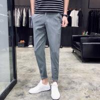 适合腿粗男生的裤子春夏薄款滑料垂感西裤配皮鞋裤ins同款xx日本