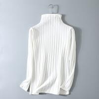 春装打底衫女士长袖修身T恤半高领纯棉大码显瘦百搭上衣体恤秋衣