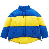女童外套时髦洋气儿童装保暖棉衣冬装棉袄