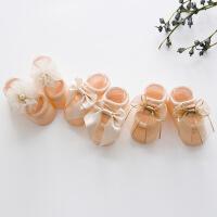 G231新款春夏立体全棉婴儿袜 可爱儿童宝宝袜子 蕾丝花朵地板袜
