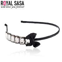 皇家莎莎RoyalSaSa发饰品发箍头箍窄边韩国水钻发夹发卡韩版波西米亚风头饰HS1404SP168