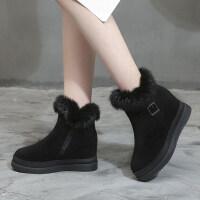 雪地靴女2019新款冬季加绒短筒韩版棉靴加厚保暖棉鞋防滑二棉短靴