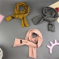 儿童针织围巾围脖婴儿秋冬保暖脖套宝宝毛线围巾