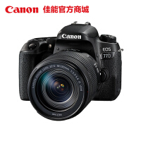 【佳能官方商城】Canon/佳能 EOS 77D 套机(EF-S 18-135mm f/3.5-5.6 IS USM) 新中级单反 顺丰包邮