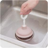 厨房家用水槽管道疏通器清理水管毛发堵塞皮通下水道疏通器
