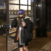 棉衣女飞行员夹克秋冬季宽松棒球服加厚韩版原宿风bf学生外套