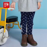 JJL KIDS/季季乐2017冬季新款女小童打底裤