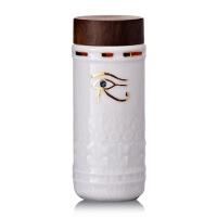 乾唐轩活瓷吉星守护之眼随身杯随身杯双层隔热创意陶瓷水杯带盖