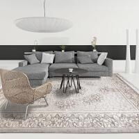 【支持礼品卡】纯手工雕花羊毛客厅茶几复古地毯(165*244cm)