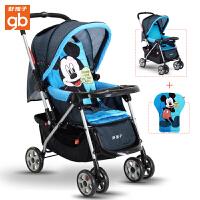 【当当自营】好孩子婴儿推车 轻便 婴儿车推车 儿童宝宝推车 婴儿手推车C309/C311 蓝色+迪士尼棉垫