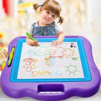 宝宝婴儿小玩具1-3岁2幼儿彩色超大号涂鸦板儿童画画板磁性写字板