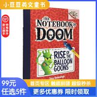 进口原版 Rise Of The Balloon Goons毁灭笔记1:气球怪人崛起 [6-10岁]