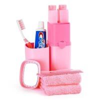 旅行洗漱杯牙刷牙膏便携套装 出差旅游收纳包洗漱包女男