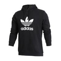 Adidas阿迪达斯 男装 三叶草运动休闲连帽卫衣套头衫 CW1240