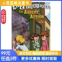 进口英文原版The Absent Autho A to Z 神秘案件 #1 失踪的作家【6-12岁】