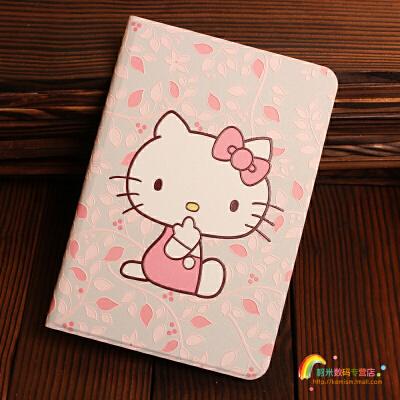 ipad2保护套老款 苹果ipad4保护套 平板电脑壳子ipad3个性创意薄卡通浮雕皮套A1458