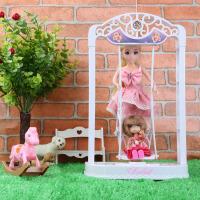 乐吉儿芭比洋娃娃公主玩具套装大礼盒永动秋千女孩公主生日礼物