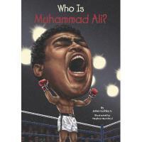 【现货】英文原版 Who Is Muhammad Ali? 拳王阿里是谁 名人传记 中小学生读物