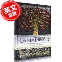 现货 冰与火之歌权力的游戏 维斯特洛完全官方指南 英文原版 Game of Thrones: A Guide to W