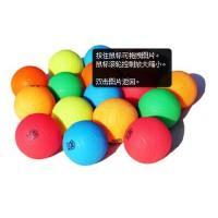新款久久星太极柔力球彩色充气球竞技比赛球打气式柔力球五彩球