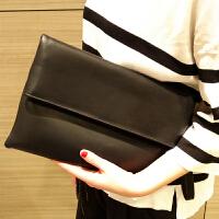 新款潮女包斜挎包大容量简约百搭单肩包软皮信封包女士手拿包