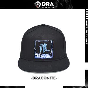 DRACONITE潮牌休闲出游遮阳棒球帽男女个性刺绣图案情侣帽子16148