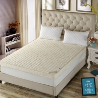 加厚床�|1.2米1.5m1.8m床2米�p人�W生可折�B榻榻米床褥子海�d�|被