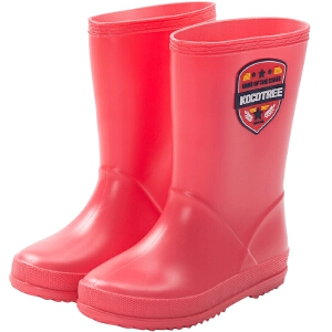 KK树新款儿童雨鞋男童女童卡通雨鞋小孩防滑中筒雨靴夏季宝宝水鞋