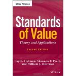 【预订】Standards Of Value, Second Edition 9781118138533
