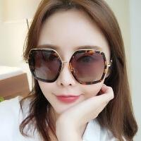 偏光墨镜女潮个性太阳镜明星同款圆脸眼镜网红时尚
