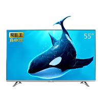 TCL D55A620U 55英寸观影王 4K超高清14核HDR安卓智能液晶电视机(黑色)