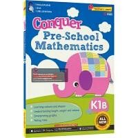 【首页抢券300-100】SAP Conquer Pre-School Mathematics K1B 攻克系列学前数学