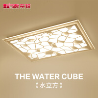 东联LED吸顶灯饰创意亚克力大气客厅灯超薄温馨卧室灯后现代简约餐厅灯具x96