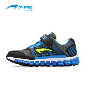 七波辉男童鞋 儿童透气网鞋休闲运动鞋 秋季男童中大童运动鞋