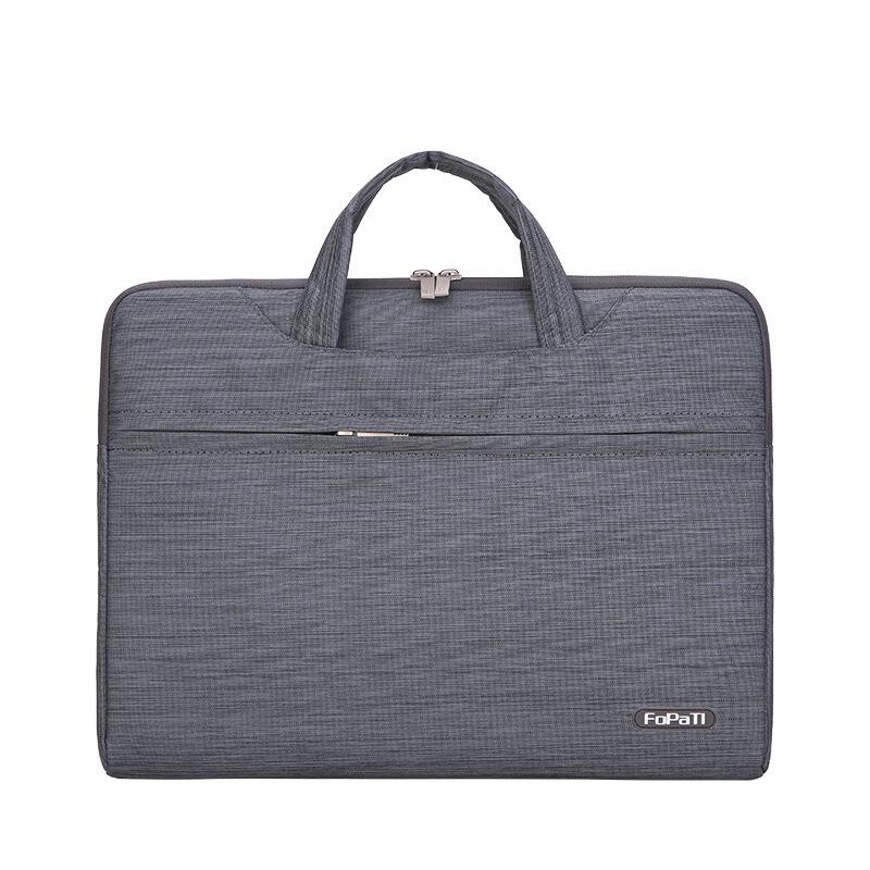 电脑包笔记本包手提型电脑包苹果内胆包13寸彩色手提包14寸斜跨包15.6寸笔记本电脑包 阳离子有肩带色