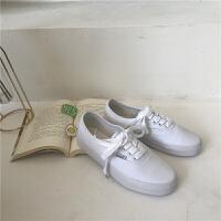 帆布鞋女懒人板鞋ins同款原宿小白鞋学生韩版潮布鞋夏季百搭鞋