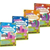 【首页抢券300-100】SAP Conquer Pre-School Mathematics K1K2 4册套装 攻克