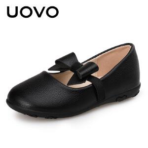 UOVO女童鞋宝宝皮鞋软底公主鞋2-6岁鞋子春秋单鞋夏 安伊诺