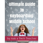 【预订】Ultimate Guide to Keyboarding: Middle School 9781942101