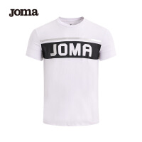 JOMA短袖t恤男装夏季新款透气运动上衣百搭休闲圆领字母体恤男满200减40