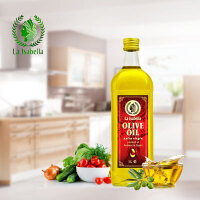 [当当自营] 西班牙进口 莉莎贝拉 特级初榨橄榄油 食用油礼盒装 1L