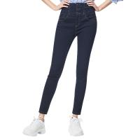 网易严选 女式超弹高腰牛仔裤