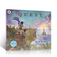 进口英文原版绘本 (Journey Trilogy 2) Quest 彩虹国度 儿童启蒙图画故事书