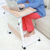 包邮大豪带轮子移动升降电脑桌床边桌儿童学习桌书桌