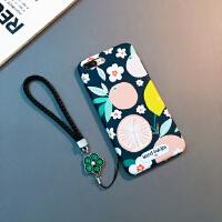 新款iphone Xs Max手机壳苹果7/8plus挂绳X防摔6sp保护软套XR潮女 6/6s 4.7寸()