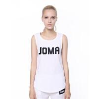 JOMA荷马吸汗坎肩t恤薄款紧身跑步运动背心女速干无袖训练健身衣