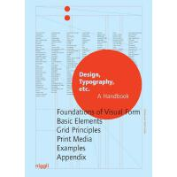 正版 Design, Typography etc.: A Handbook (NIGGLI EDITIONS) 设计,