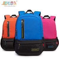 新款休闲简约时尚书包 旅游包双肩运动背包中学生书包双肩包