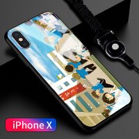 iphone8防摔iphone硅胶iphonex个性创意iphonexr新款7plus超薄p保护套x 苹果x 校园之风